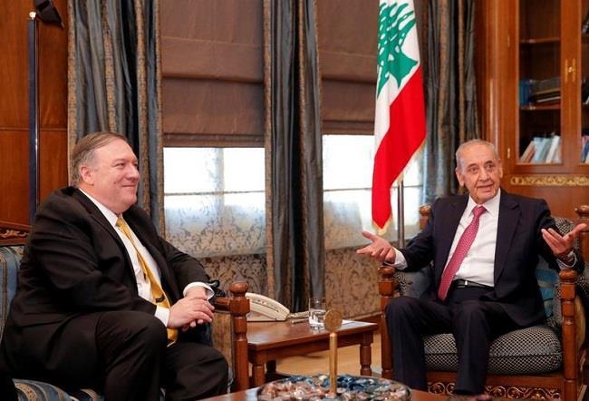 بري لوزير الخارجية الأميركي: العقوبات على «حزب الله» تضر لبنان