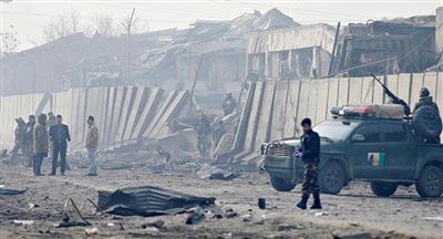 مقتل 4 أشخاص وإصابة 11 بانفجار مزدوج وسط تجمع شعبي جنوب أفغانستان