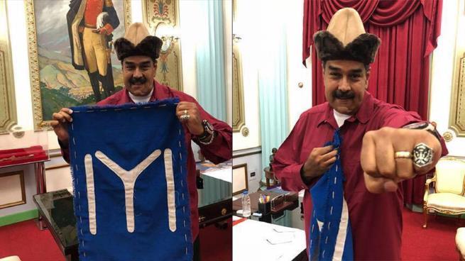 """رئيس فنزويلا : ربما أعتنق الإسلام يوماً بسبب المسلسل التركي  """"قيامة أرطغرل"""""""