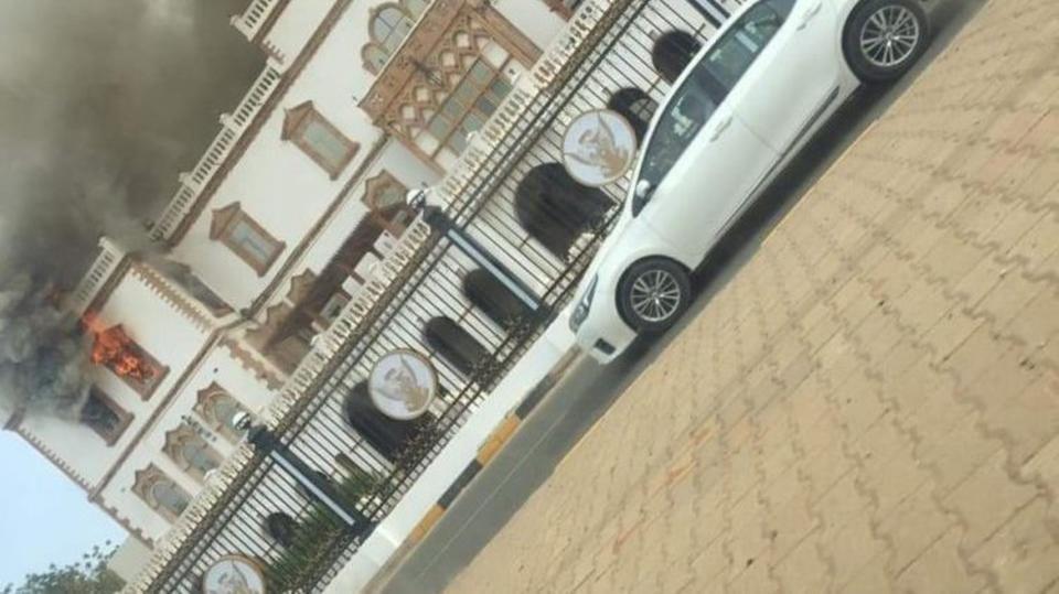 السيطرة على حريق في القصر الرئاسي القديم بالسودان