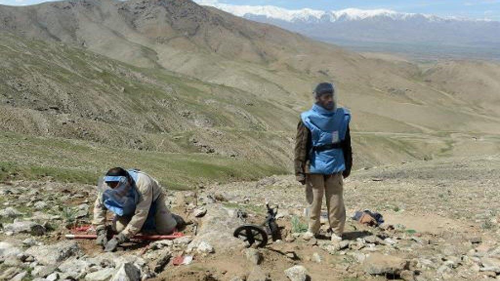 مقتل 7 أطفال جراء انفجار قذيفة هاون عثروا عليها في أفغانستان