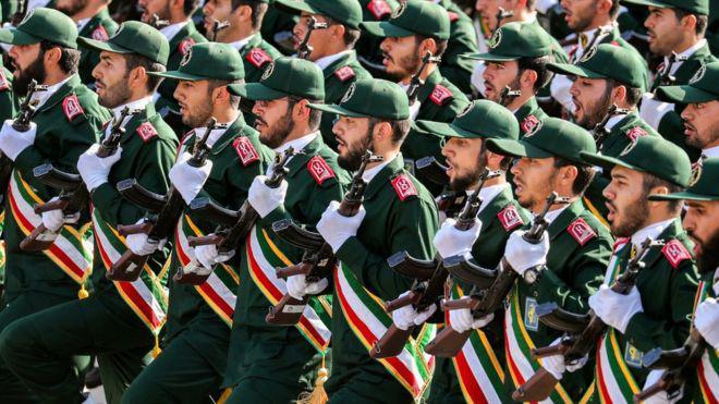 قرار تصنيف الحرس الثوري الإيراني منظمة إرهابية يدخل حيز التنفيذ رسميا