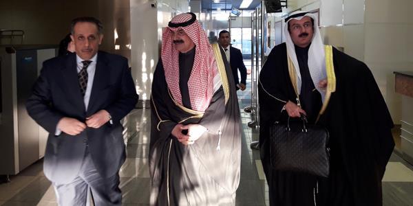 الجارالله يصل موسكو: تناغم وتنسيق عربي روسي حيال القضايا الهامة