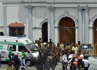 ارتفاع حصيلة ضحايا تفجيرات سريلانكا لـ 290 قتيلًا