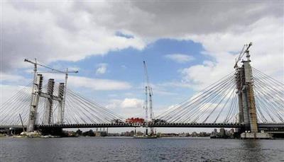 الرئيس المصري يفتتح أعرض جسر معلق في العالم