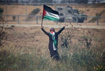 الفلسطينيون يحيون الذكرى 71 للنكبة في مسيرات بالضفة الغربية وغزة