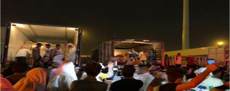 توزيع منتجات المزارعين مجاناً في «شبرة الأندلس»