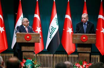 رئيس الوزراء العراقي: إعطاء تركيا أولوية في إعادة إعمار وتنمية المناطق المتضررة من احتلال «داعش»