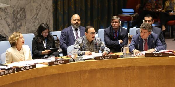 الكويت تقدم مشروع قرار أمام مجلس الأمن حول المفقودين في النزاعات المسلحة