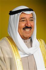 سمو أمير البلاد يهنئ ملك الأردن بالعيد الوطني