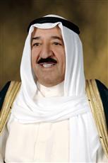 سمو أمير البلاد يستقبل رئيس مجلس الوزراء القطري