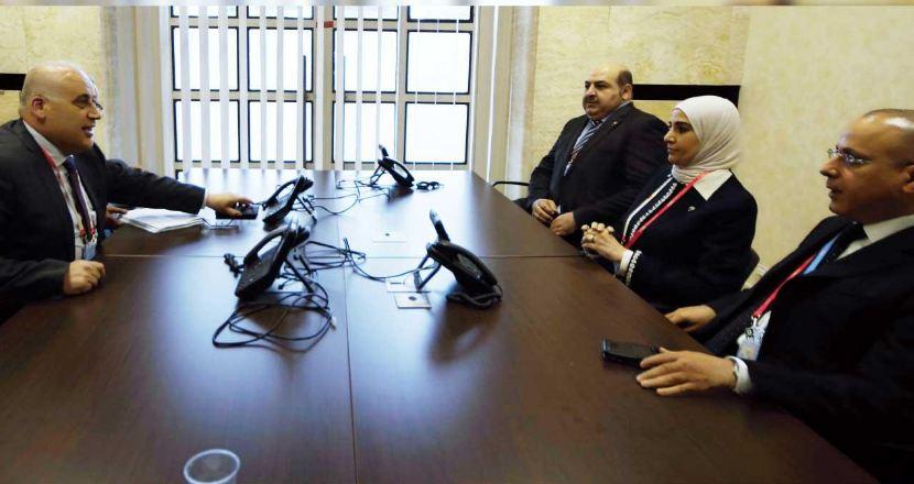 وزير العمل الفلسطيني يشيد بدعم الكويت لعمال فلسطين
