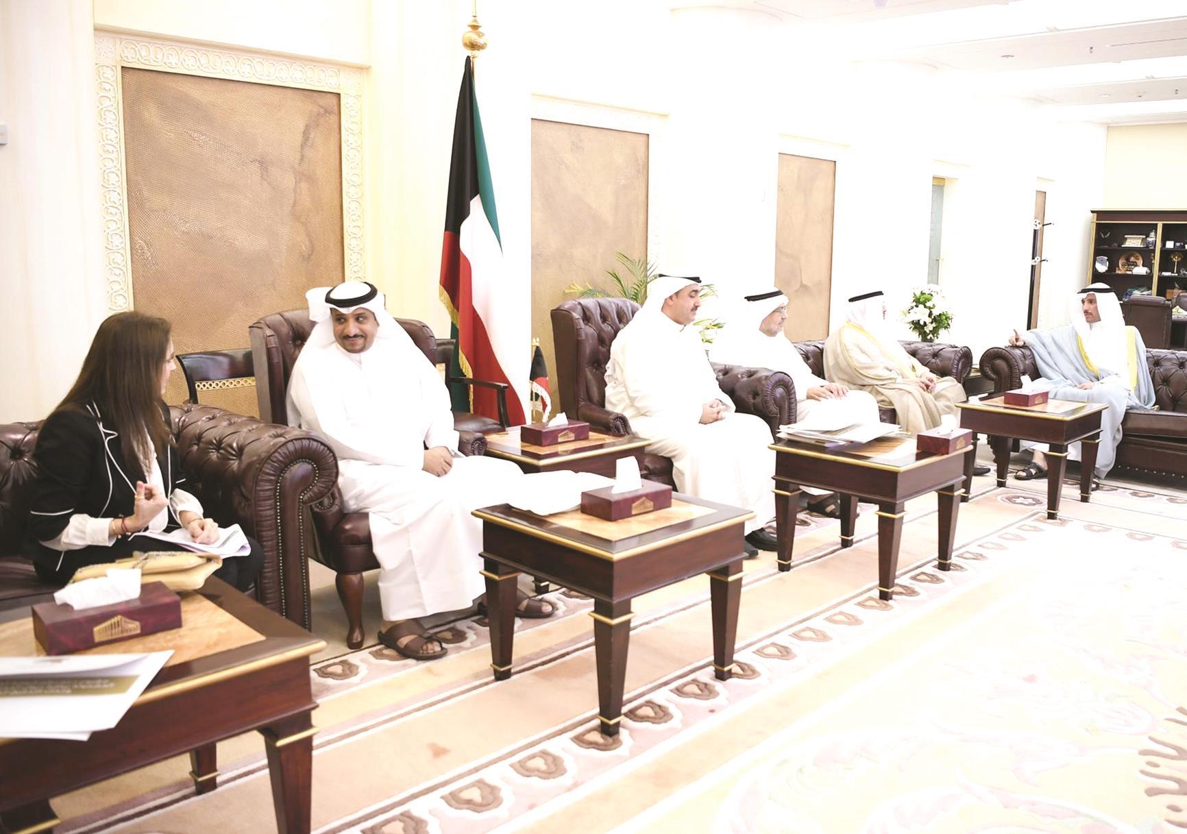 جابر المبارك: مُلتزمون مكافحة الفساد ودعم إجراءات حماية الأموال العامة