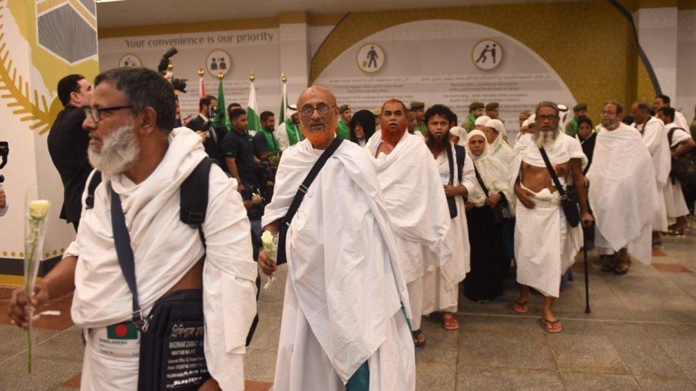 وصول أكثر من 339 ألف حاج إلى المملكة حتى يوم أمس