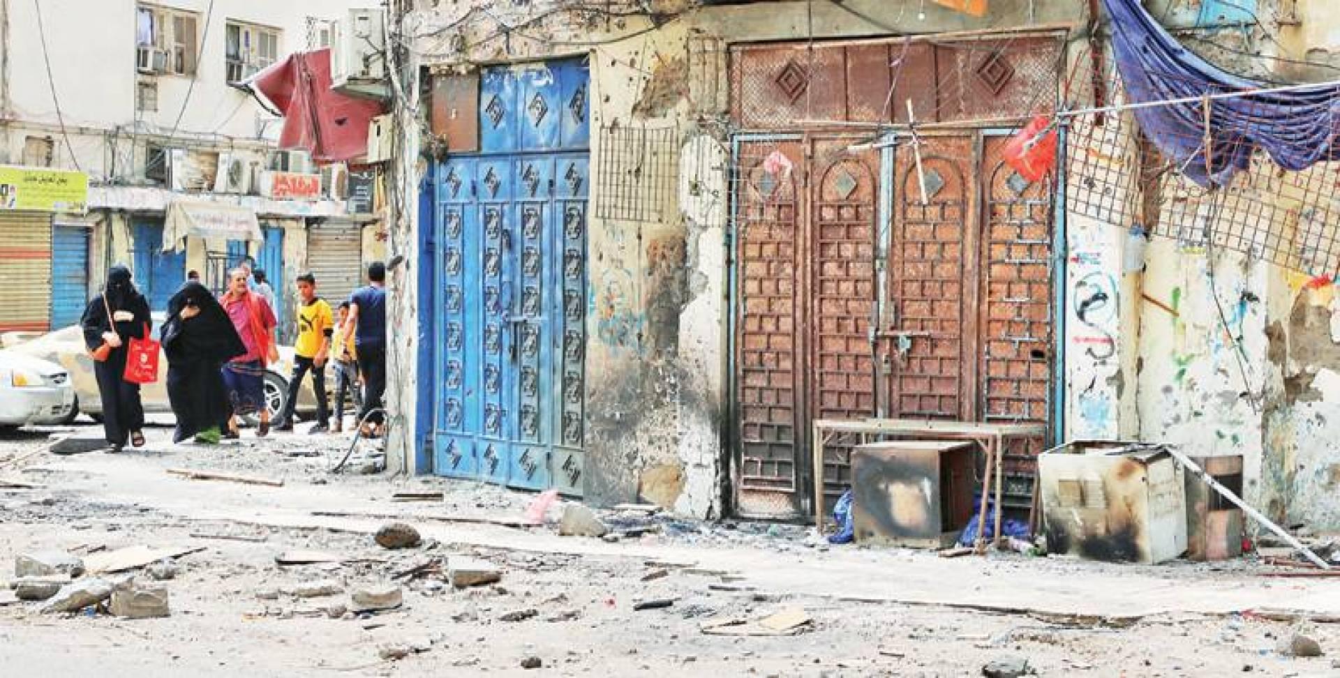 الخلاف في عدن محلي.. ومساعٍ للتهدئة