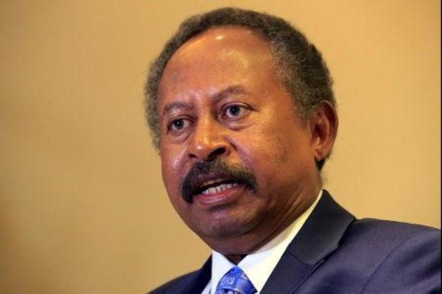 حمدوك: السودان يحتاج 8 مليارات دولار مساعدة لإعادة بناء الاقتصاد