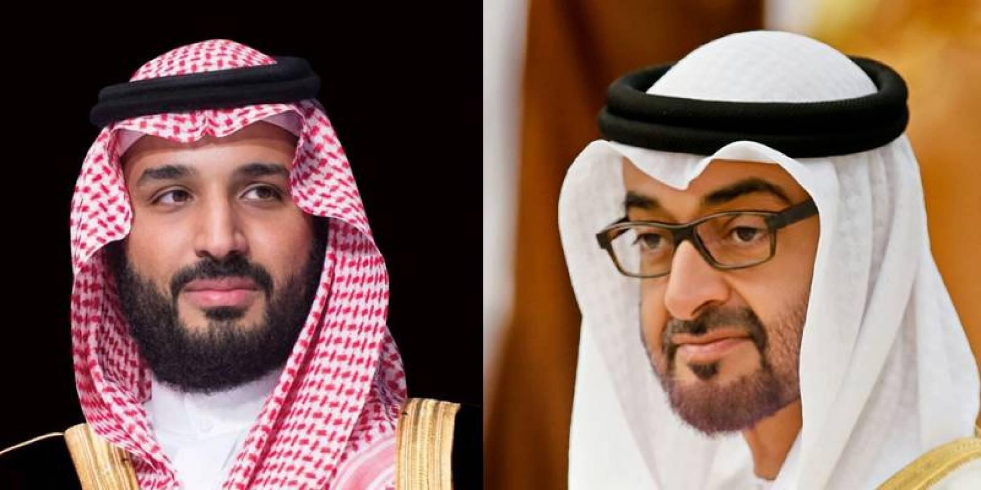 ولي عهد أبوظبي يدين الهجوم الإرهابي على أرامكو.. خلال اتصال هاتفي مع نظيره السعودي