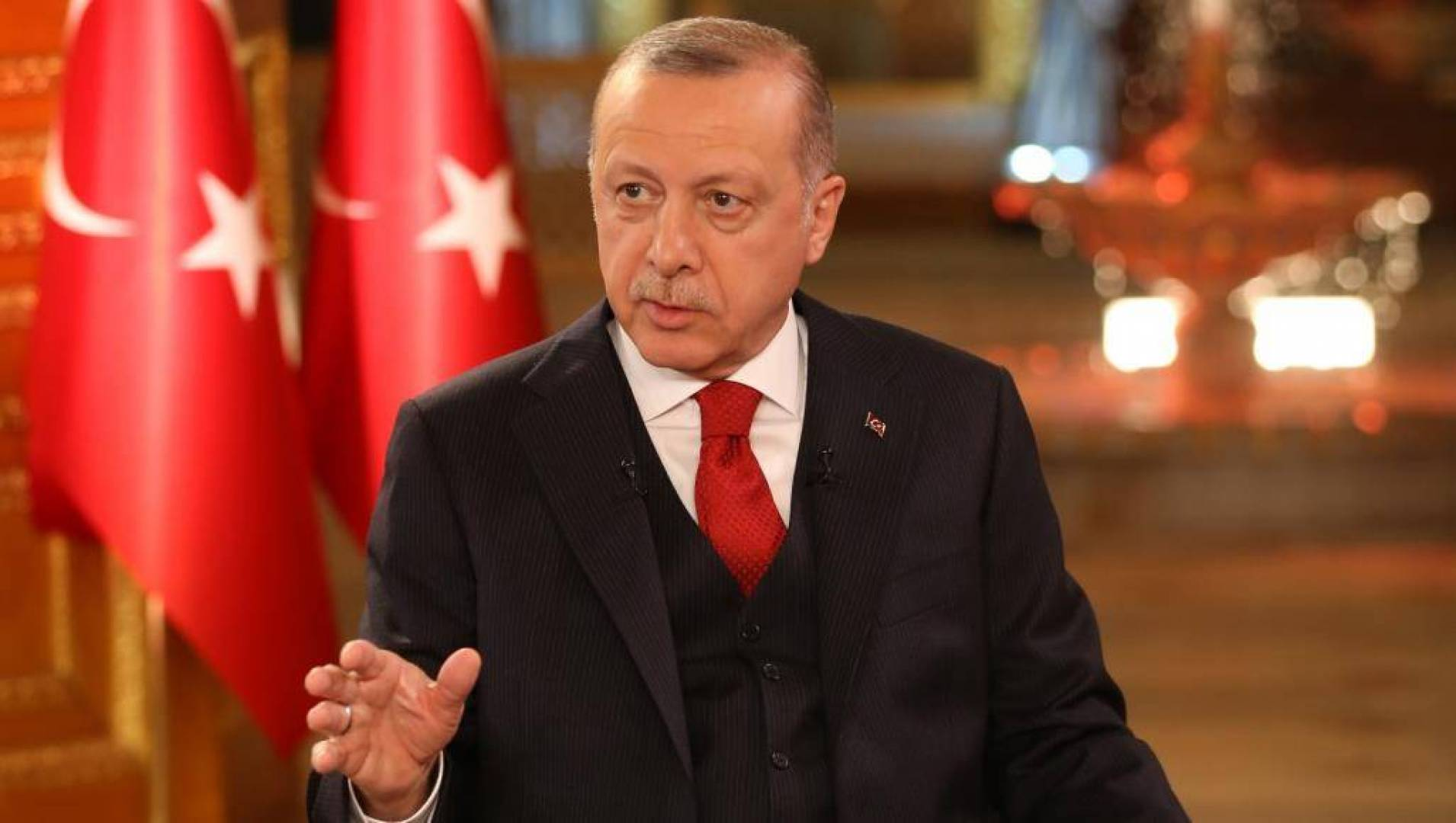 أردوغان يعلن بدء العملية التركية العسكرية في شمال سوريا