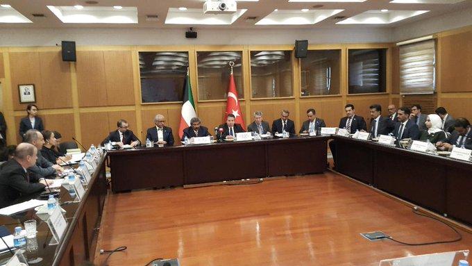 843 مليون دينار حجم التبادل التجاري الكويتي التركي