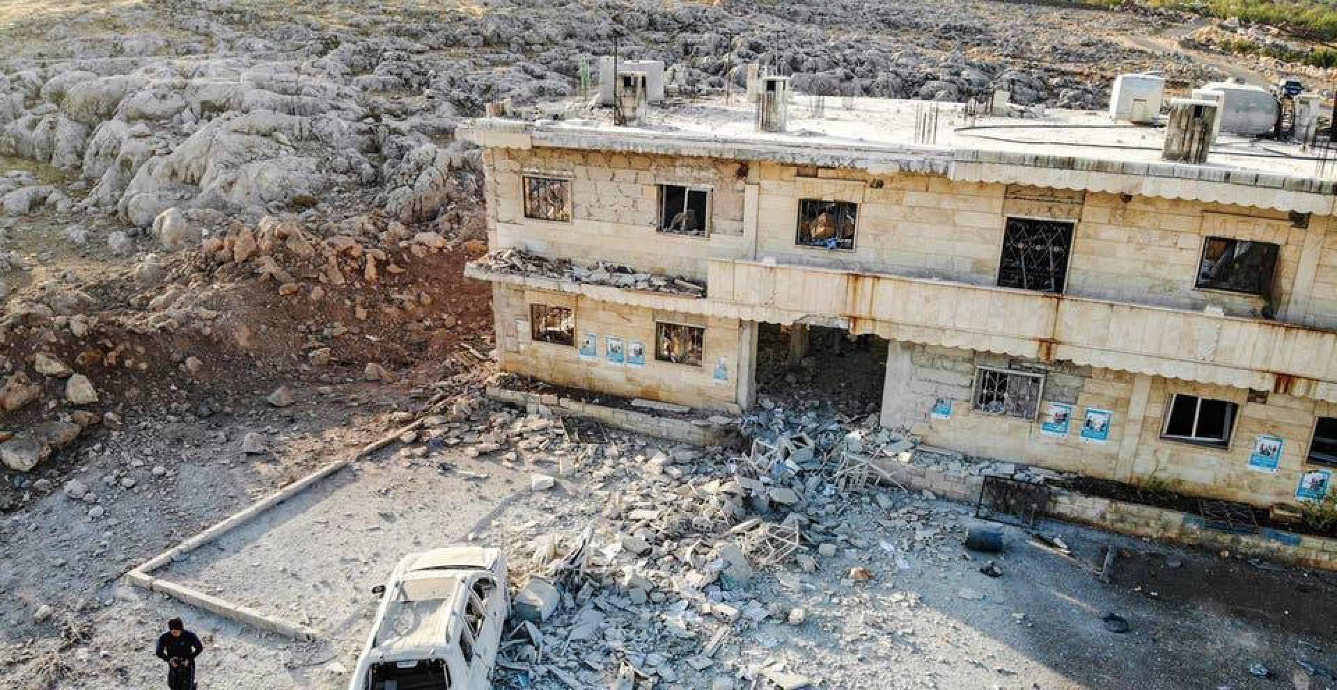 أميركا تندد بغارات جوية للحكومة السورية على منشآت طبية في إدلب
