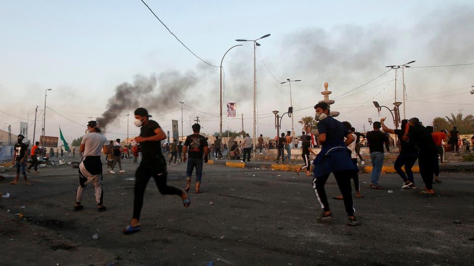 6 قتلى حصيلة ليلة صدامات بين المحتجين والقوات الامنية بالعراق