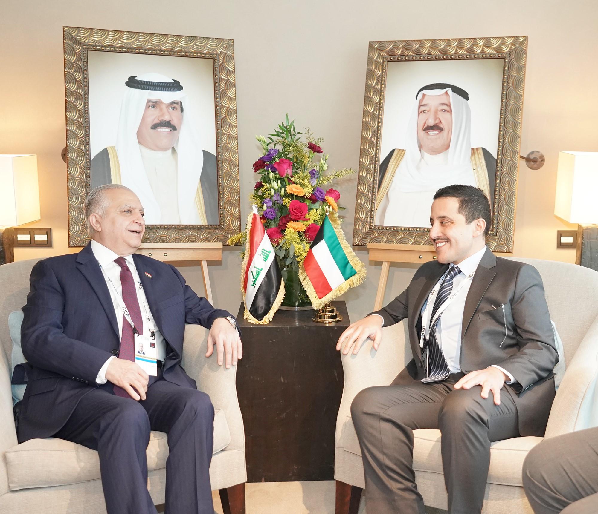 وزير الخارجية يلتقي نظيره العراقي على هامش مؤتمر ميونخ
