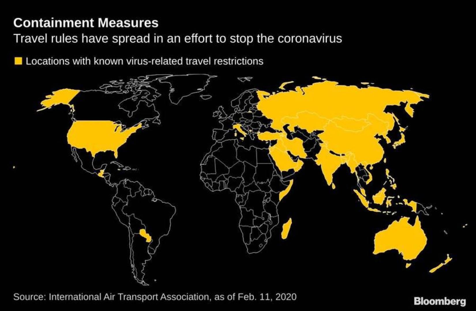 «كورونا».. الدول التي فرضت قيود سفر على الصين