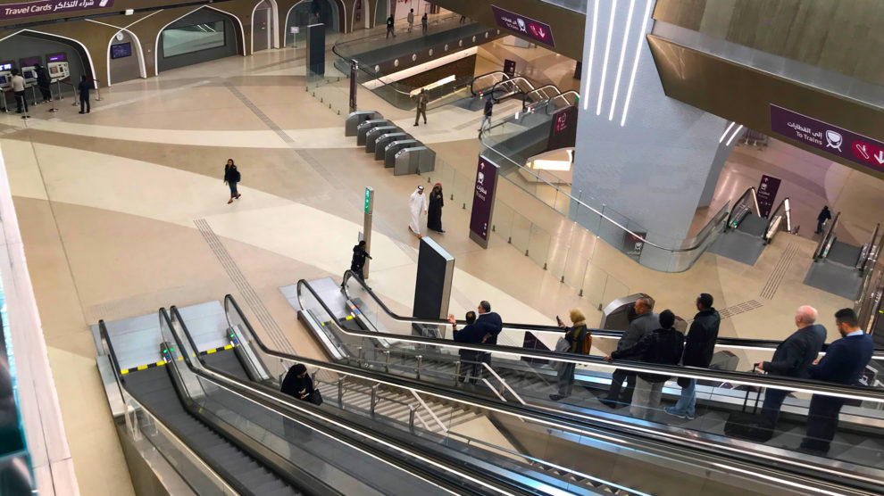 مترو الدوحة.. يوفر شبكة نقل مريحة استعدادا لمونديال 2022
