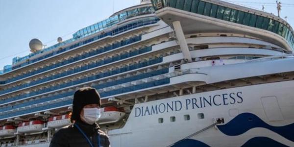أميركا تجلي مواطنيها من سفينة تخضع للحجر الصحي في اليابان جراء كورونا
