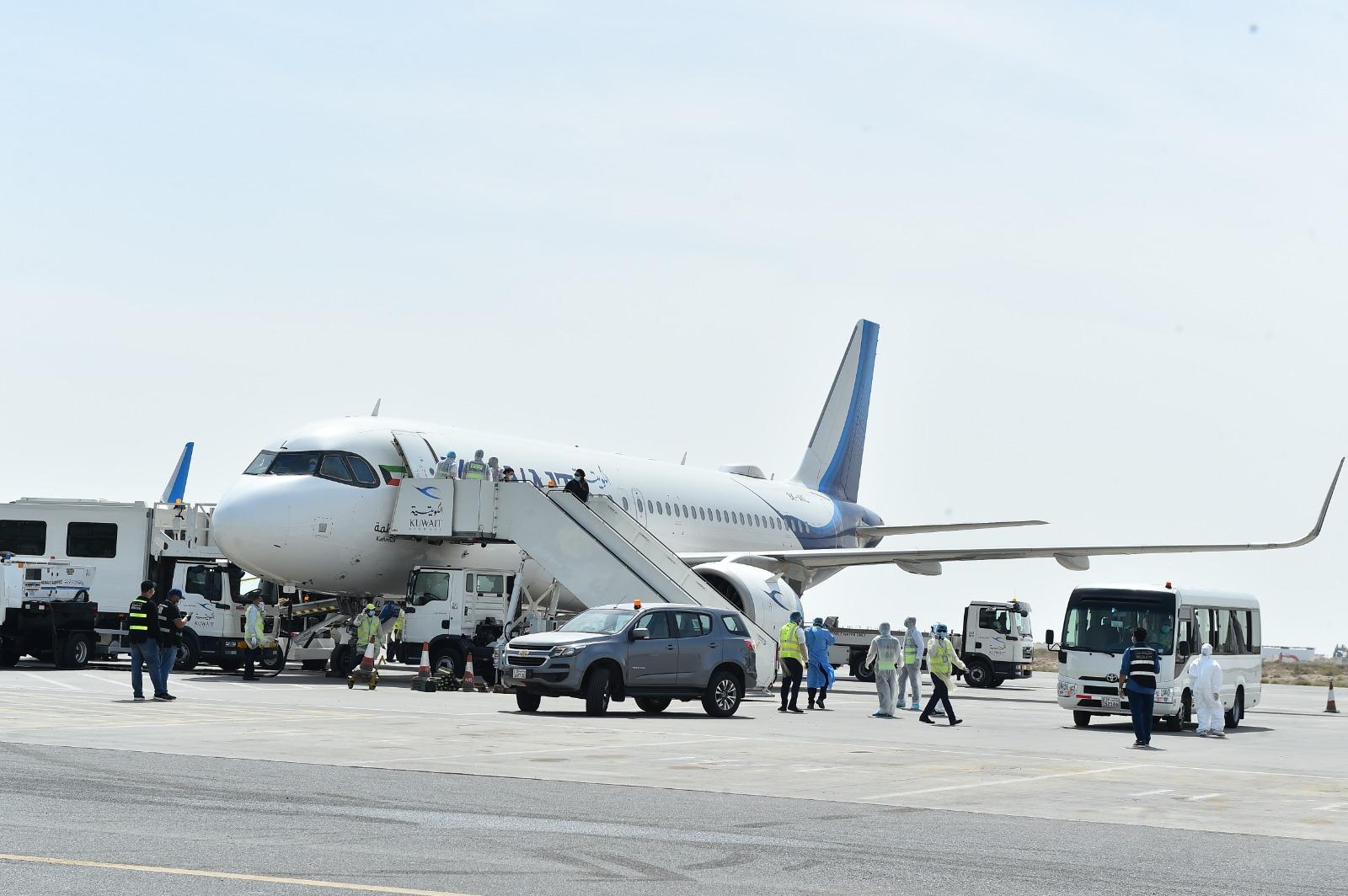 «الكويتية» تبدأ بتشغيل أولى رحلات إجلاء المواطنين من الخارج