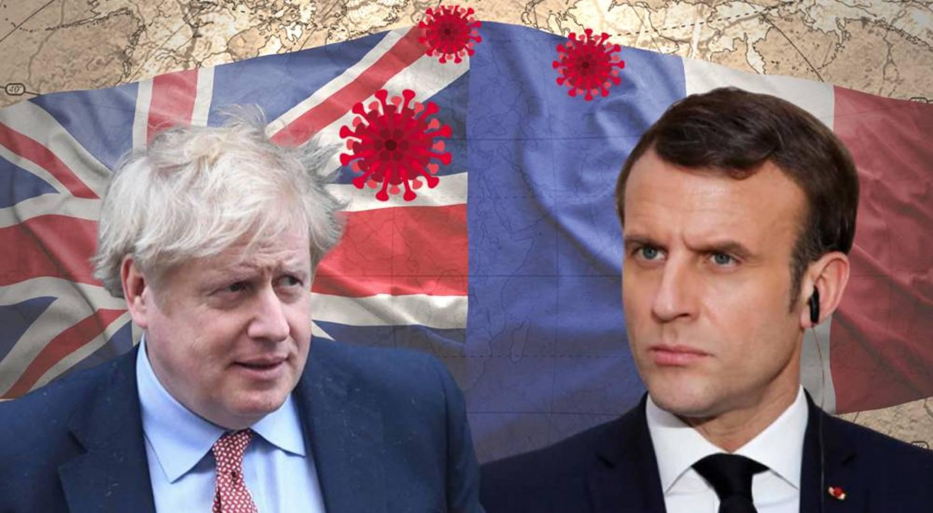 كورونا يُشعل حرباً سياسية بين بريطانيا وفرنسا