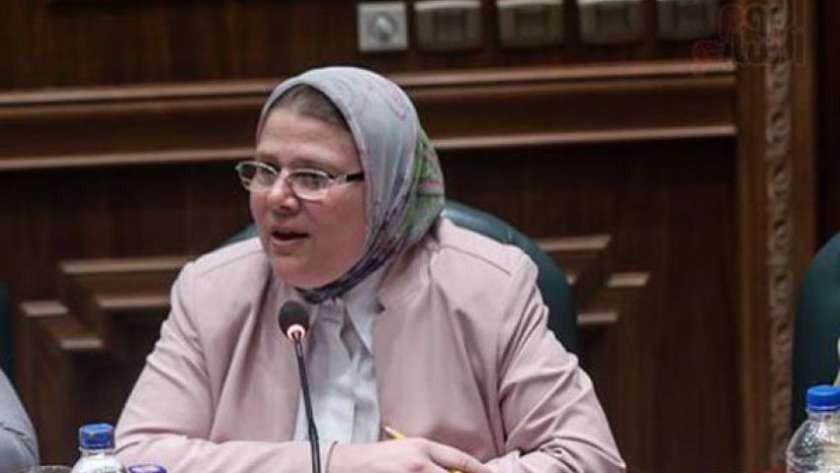 شفاء نائبة مصرية وأولادها من كورونا