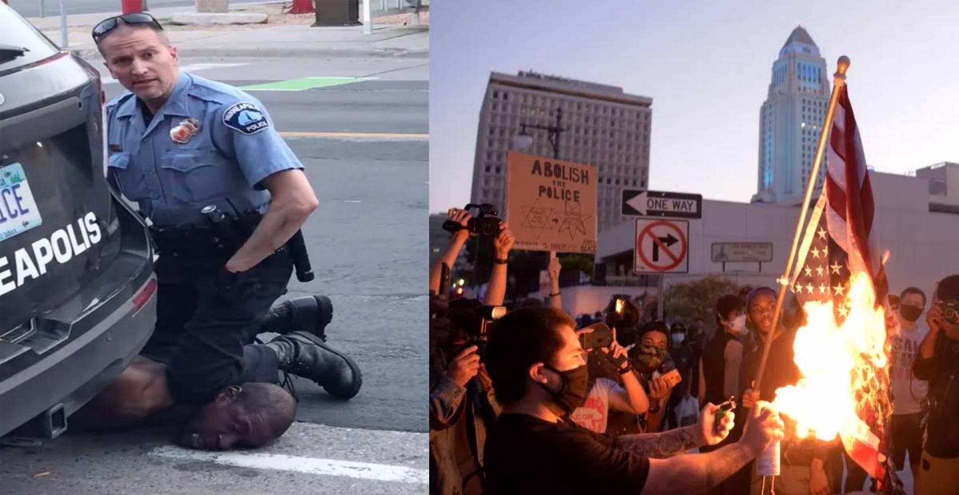 توقيف الضابط المتهم بقتل فلويد لإحتواء غضب السود