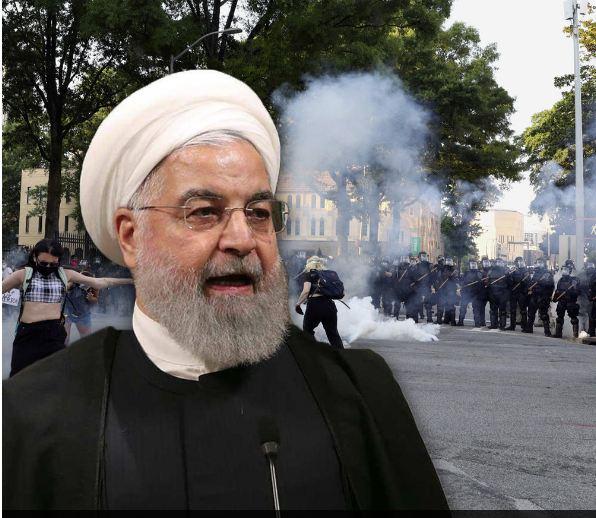 روحاني: أمريكا تقمع ذوي البشرة السمراء وتتشدد مع معارضي سياسات ترامب