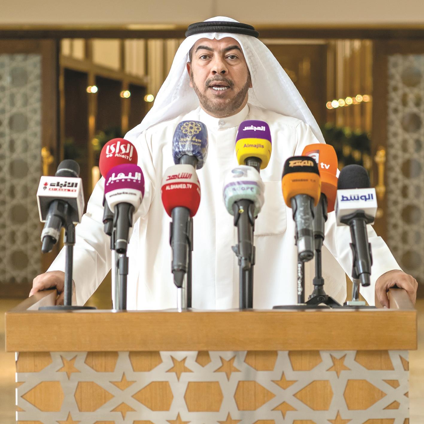 الدقباسي لـ «الراي»: الكويت مستمرة في محاولات تحقيق المصالحة الخليجية