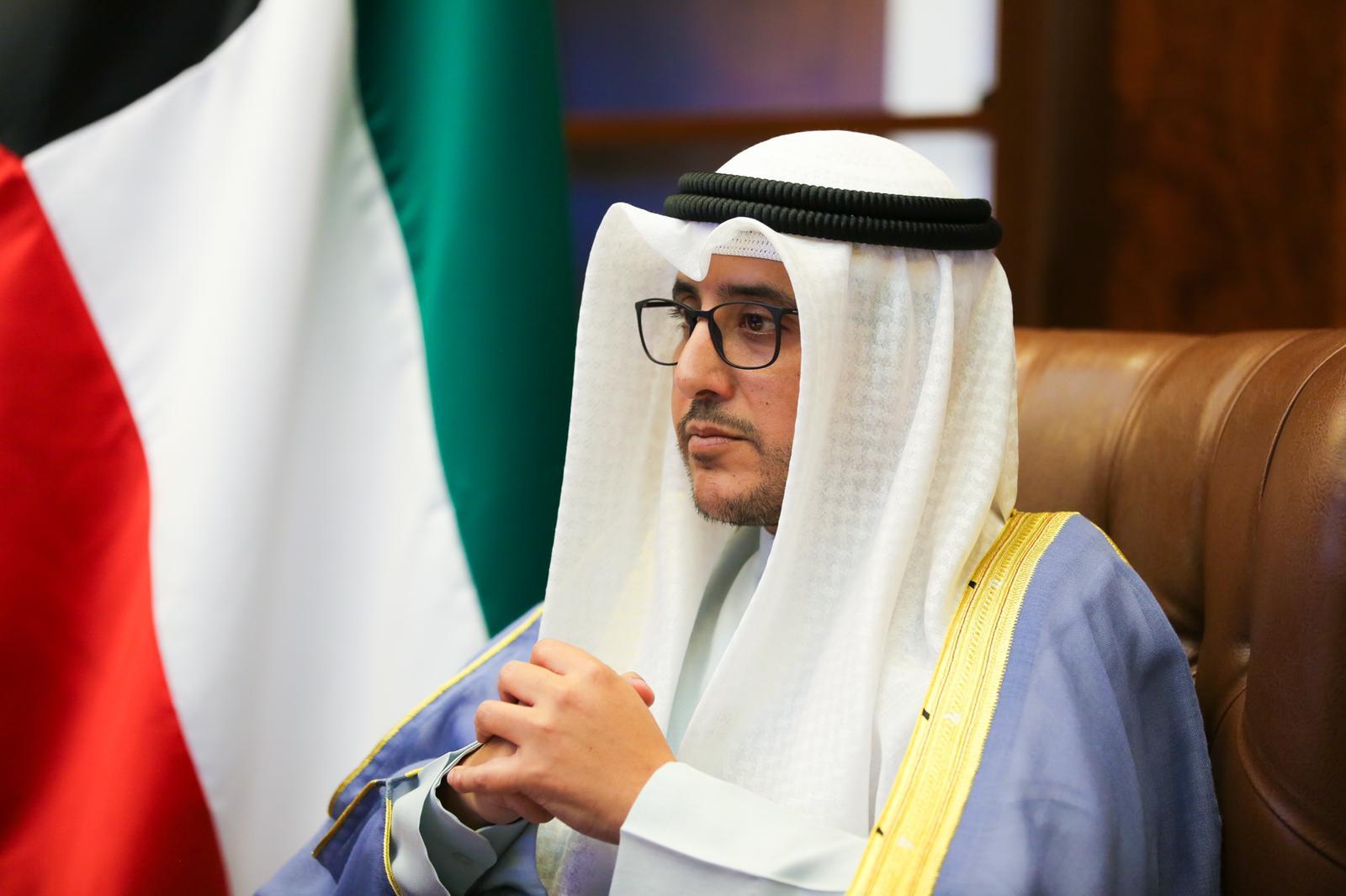 وزير الخارجية الشيخ احمد الناصر الصباح يترأس وفد الكويت بمؤتمر بروكسل الدولي الرابع لدعم مستقبل سوريا ودول المنطقة