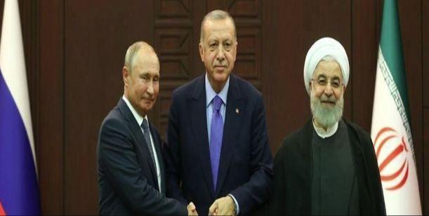 رؤساء روسيا وتركيا وإيران يجتمعون غدا