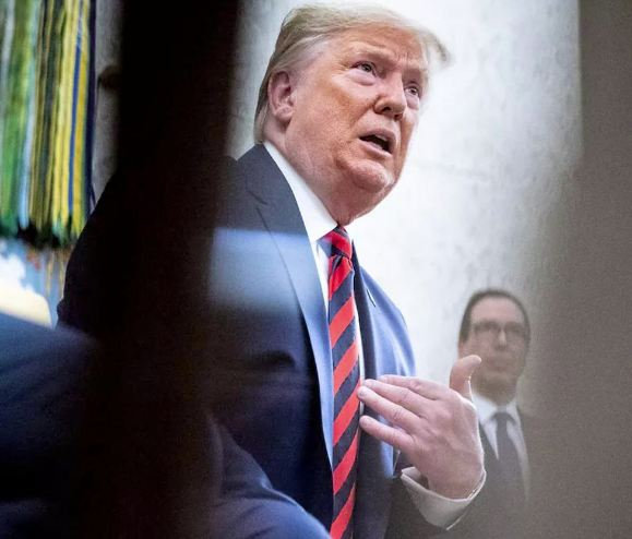 ترامب ينسب الفضل لنفسه في تراجع معدل البطالة وتحسن الاقتصاد
