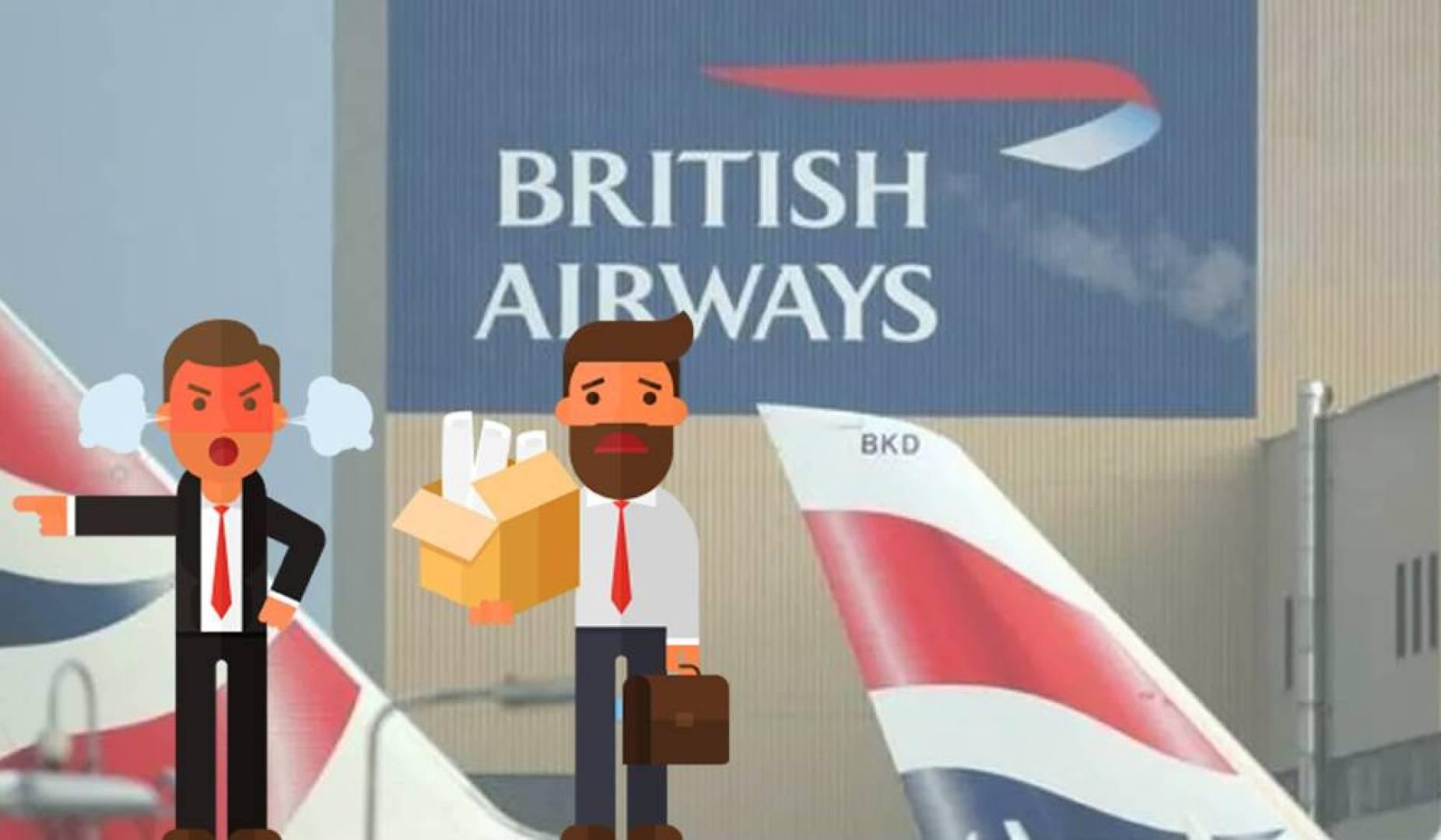 تسريح 10 آلاف موظف.. من الخطوط الجوية البريطانية