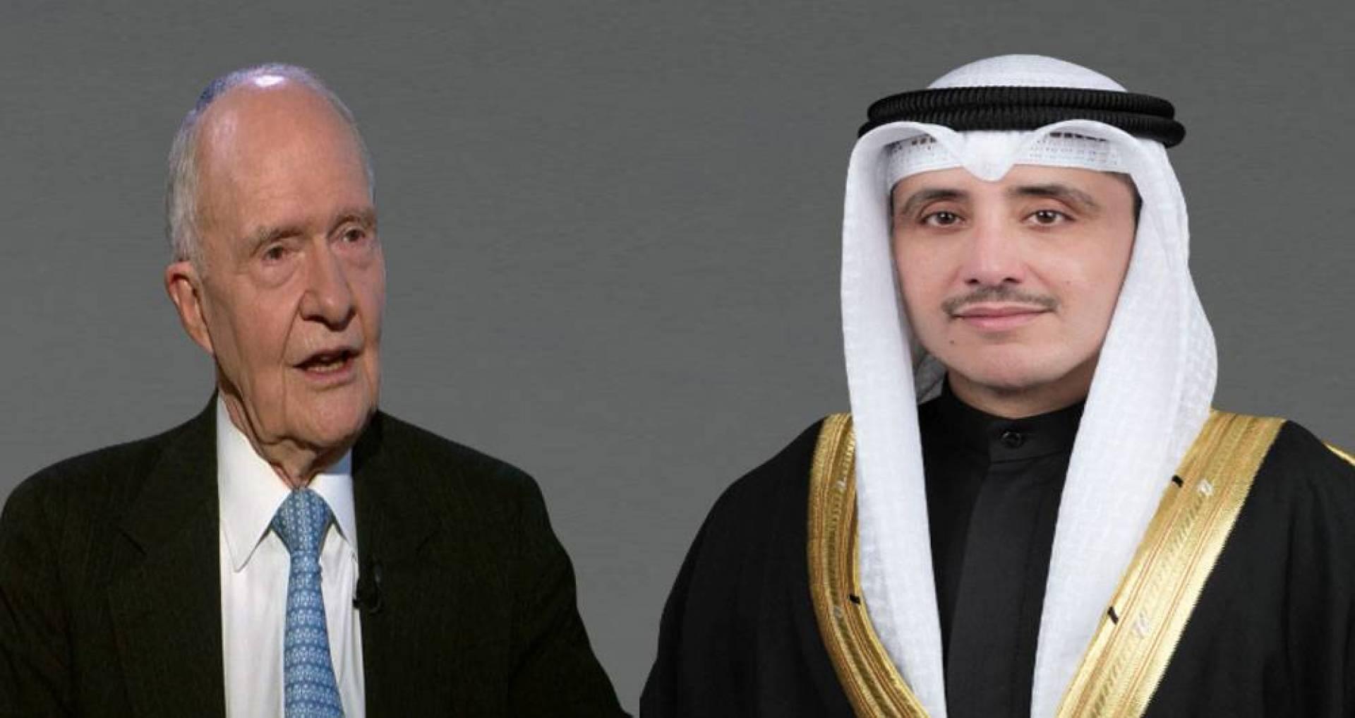 وزير الخارجية يعزي بوفاة مستشار الأمن القومي الأميركي الأسبق