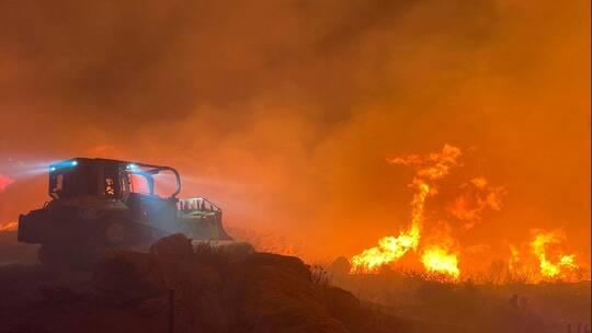 دخان حرائق الغابات الأمريكية يصل أوروبا