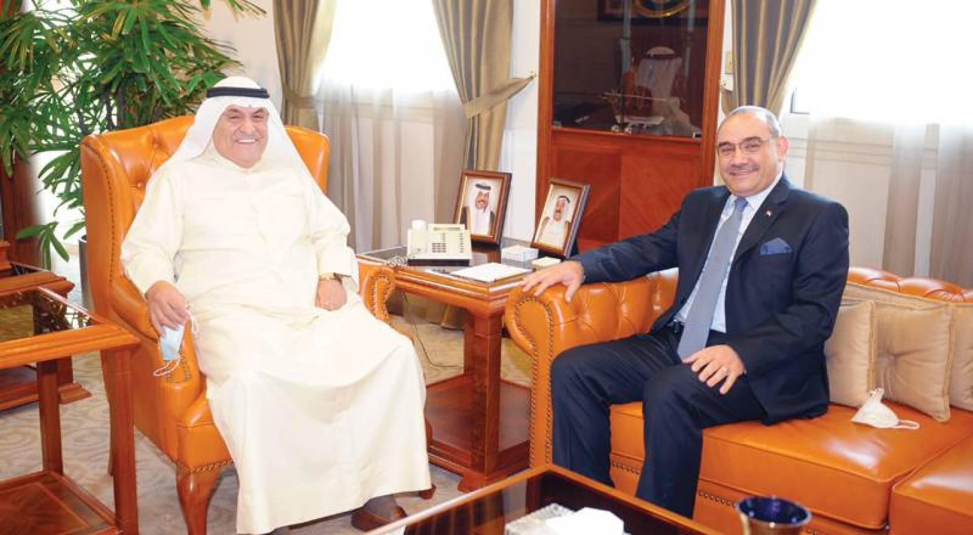 الصقر: العراق ثالث المستوردين من الكويت
