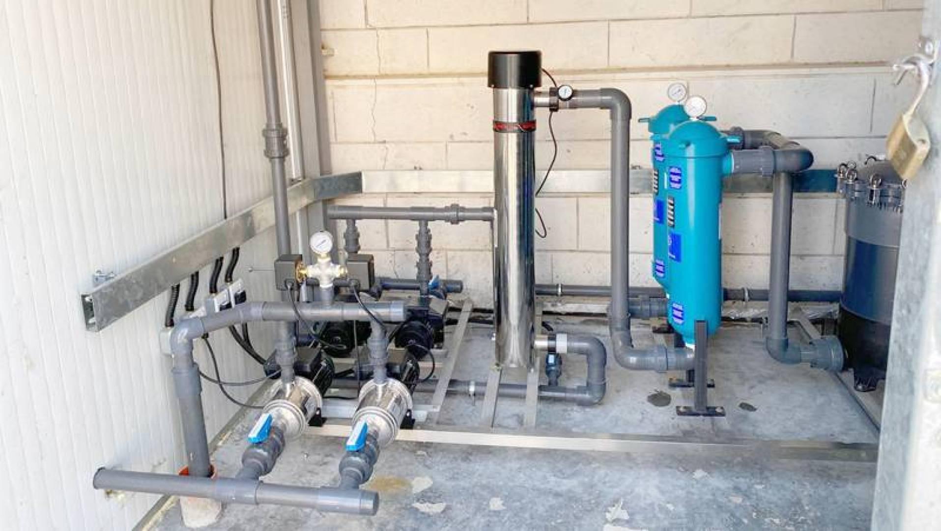 معالجة مياه الوضوء وإعادة استخدامها في ري مزروعات «المباركية»