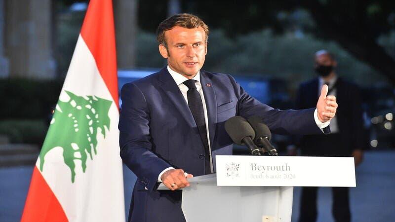 ماكرون: فرنسا لن تخذل لبنان