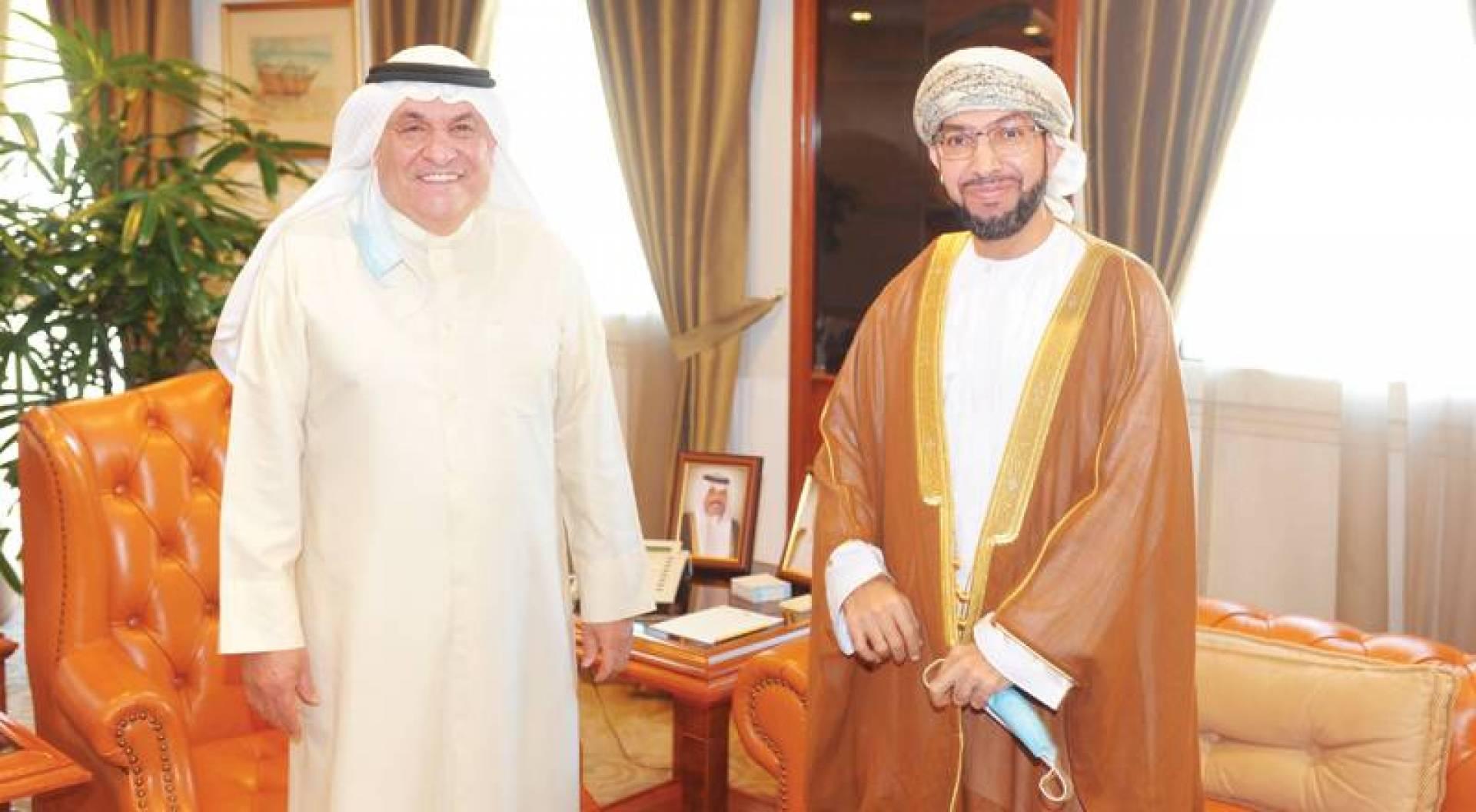 الصقر: 464 مليون دولار تبادل تجاري مع عُمان