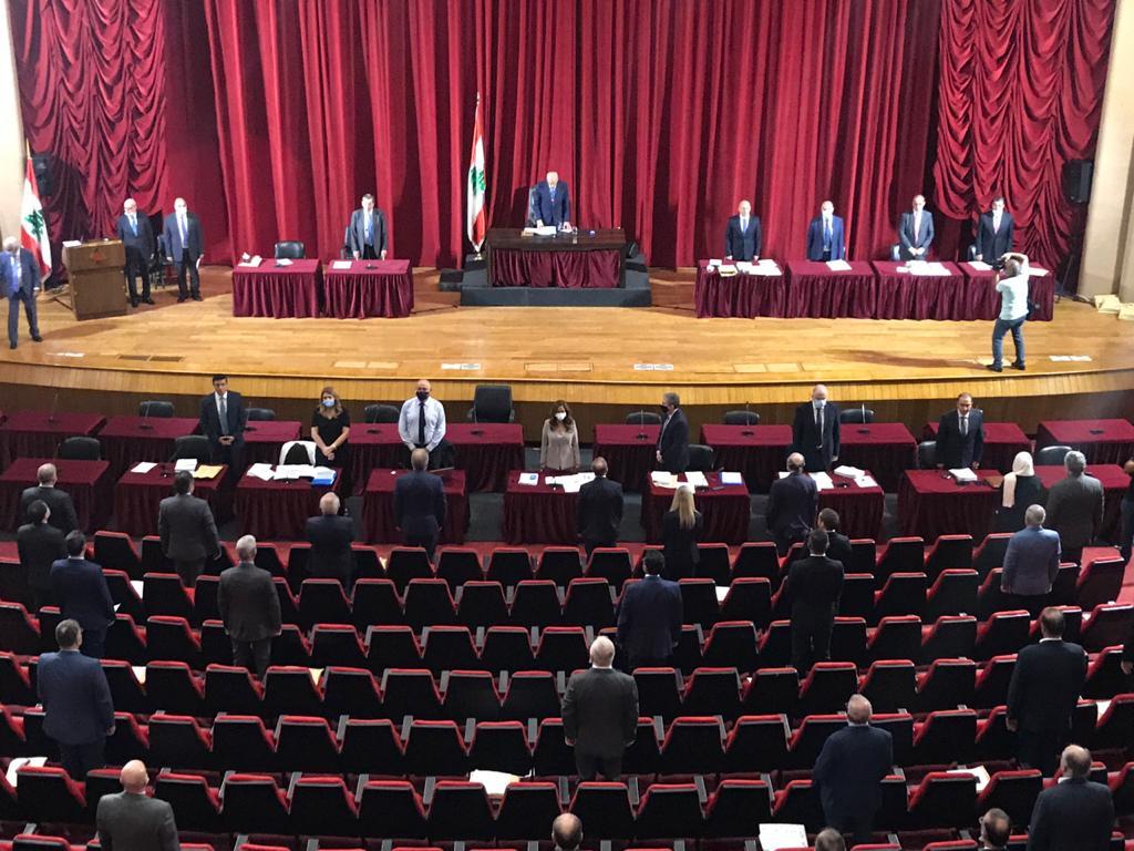 البرلمان اللبناني يقف دقيقة صمت على روح سمو الأمير الراحل الشيخ صباح الأحمد