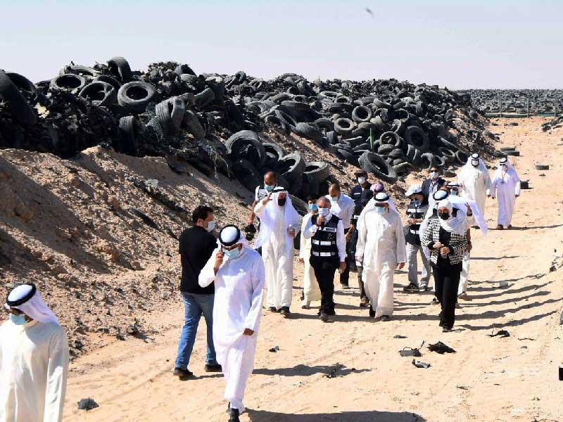 المجلس البلدي: وزارة الأشغال العامة ترفض استغلال تدوير الإطارات برصف الشوارع