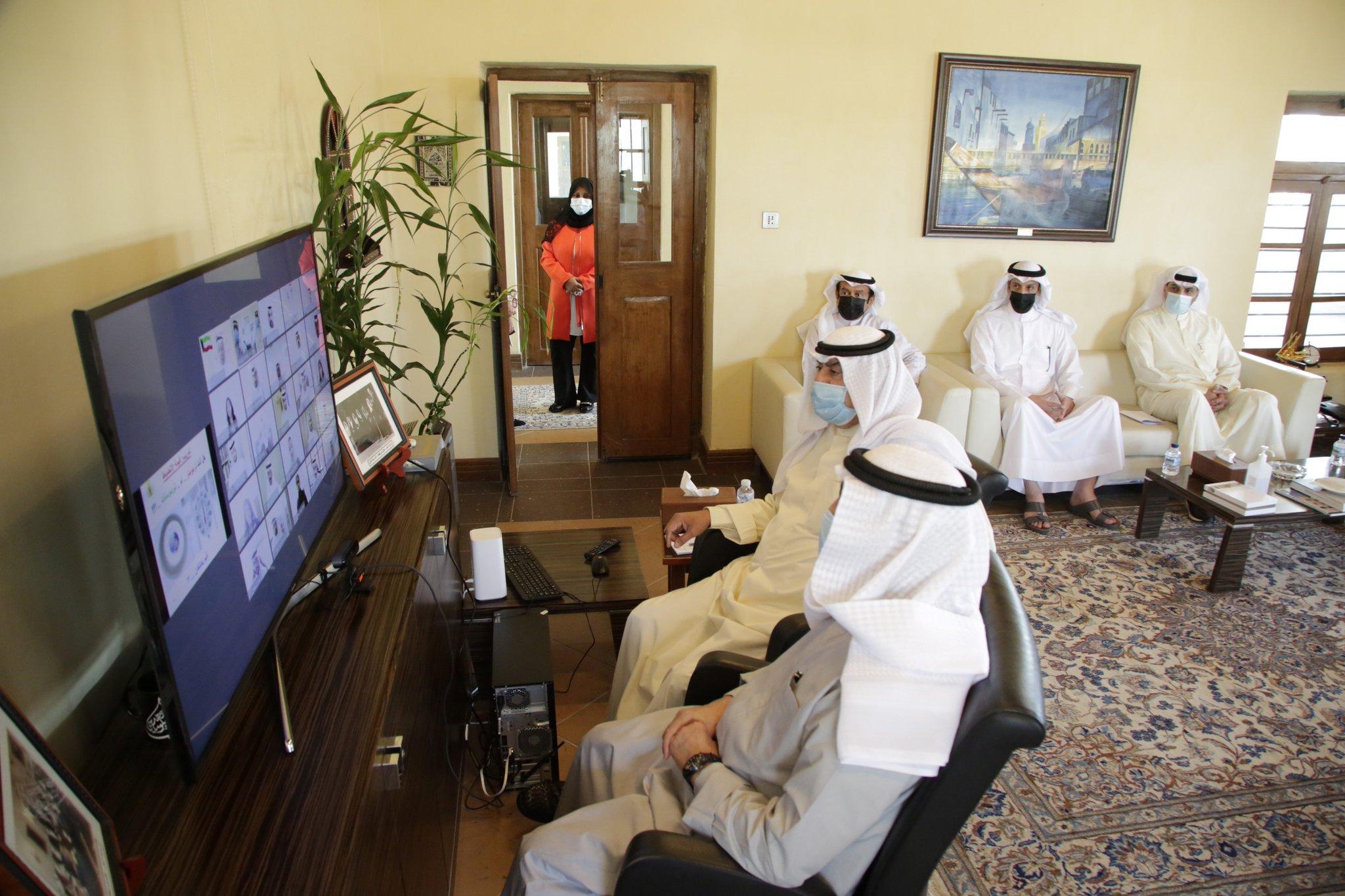 الجارالله يزور معهد سعود الناصر الصباح الديبلوماسي