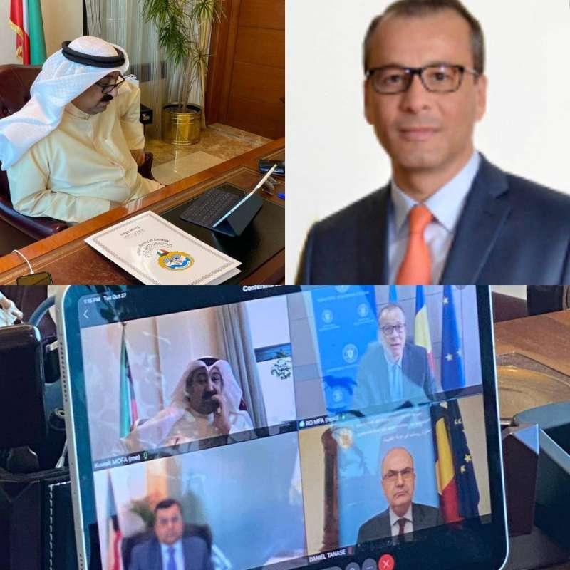 المشاورات السياسية الثنائية الكويتية الرومانية تناولت قضية المواطن البغلي