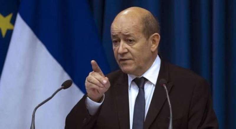 لودريان: باريس تنتظر «أفعالاً» من تركيا.. وتصريحات التهدئة لا تكفي